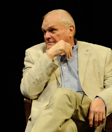 Brian Dennehy onstage for A Night With Brian Dennehy