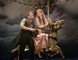 James Snyder and Teal Wicks in Carousel