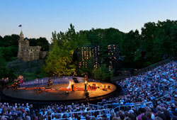 Shakespeare in the Park (courtesy of the Public Theater)