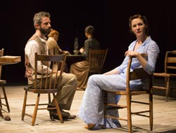 Jeremy Strong and Jessica Collins in A Month in the Country (© T Charles Erickson)