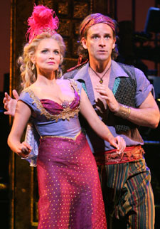 Kristin Chenoweth and Malcolm Getsin The Apple Tree(Photo © Joan Marcus)