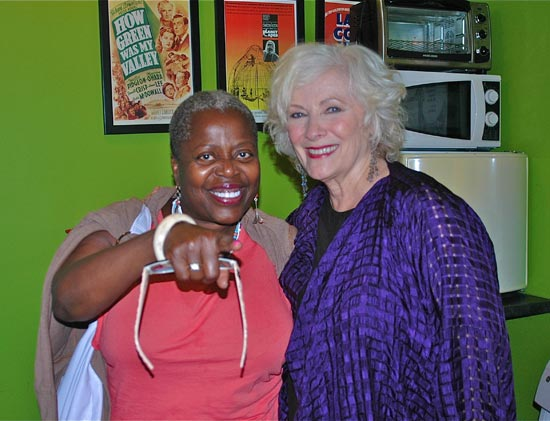 Lillias White and Betty Buckley