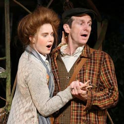Amy Adams and Denis O'Hare