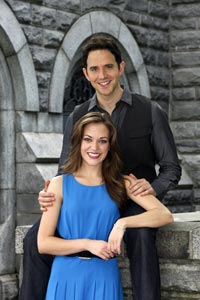 Laura Osnes and Santino Fontana will star in Rodgers & Ham