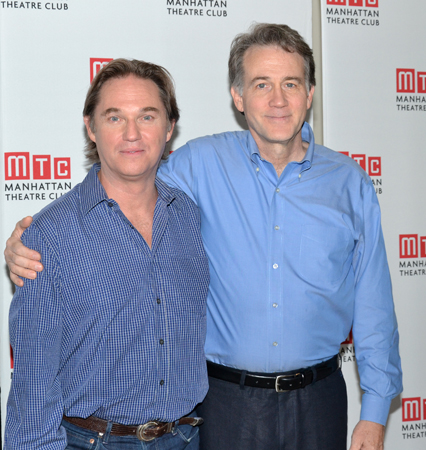Richard Thomas and Boyd Gaines