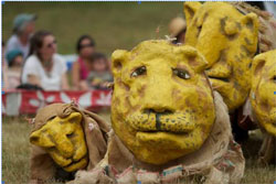 Publicity image for Bread and Puppet Theater (© Mark Dannenhauer)