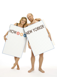 Margaret Copeland and Kevin James Doyle in How to Be a New Yorker