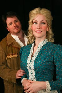 A publicity image for Seven Brides for Seven Brothers