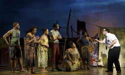 The original cast of Broadway's The Book of Mormon (© Joan Marcus)