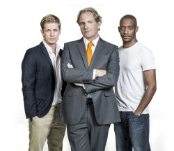 Gerard McCarthy, Robert Bathurst, Oliver Wilson