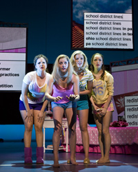 A scene from Bring It On: The Musical
