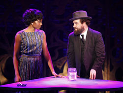 Erica Ash and Eric Anderson in Soul Doctor (© Carol Rosegg)