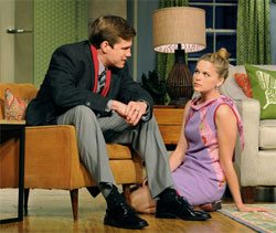 Lee Aaron Rosen and Virginia Veale