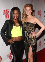 Adrienne Warren and Taylor Louderman