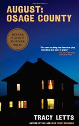 Cover to paperback edition of Tracy Letts' August: Osage County