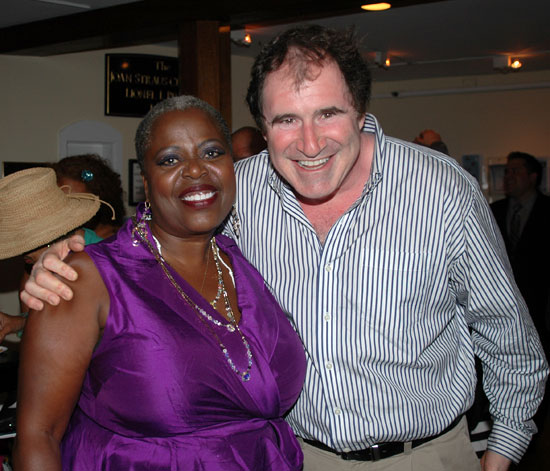 Big Maybelle's Lillias White with stage veteran Richard Kind (© Barry Gordin)
