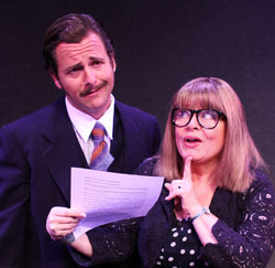Edward Staudenmayer, Sally Struthers in 9 to 5 the Musical (Courtesy of the Gateway Playhouse)
