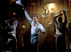 Ricky Martin and company in Evita