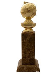 The Golden Globes trophy