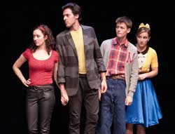 Arielle Siegel, Mike Steinmentz, Blake Williams, and Megan Kensil