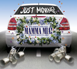 Mamma Mia! begins performances at the Novello on  September 6