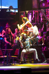 A production shot from the Rock of Ages national tour