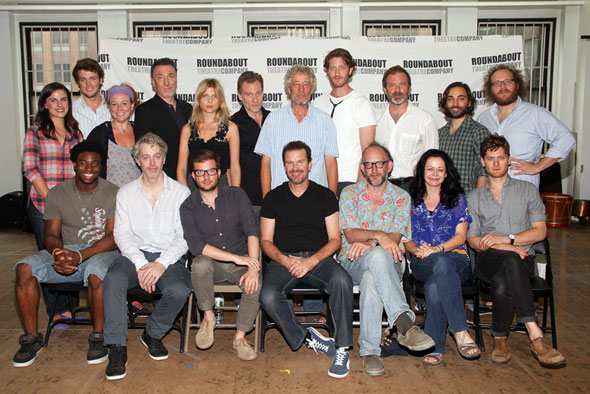 The new Broadway cast of Cyrano de Bergerac