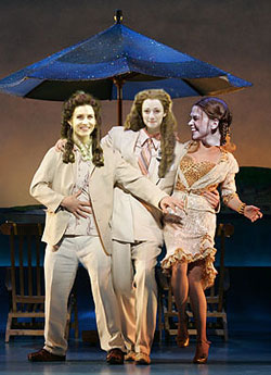 Dirty Rotten Little Women(Original photos by Carol Rosegg and Paul Kolnik,combined by Adam Klasfeld)