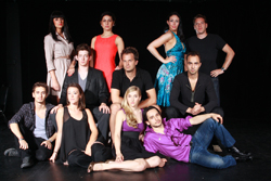 The cast of Belgrade Trilogy