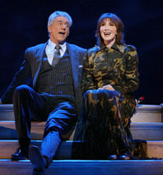 Gregory Jbara and Joanna Gleasonin Dirty Rotten Scoundrels(Photo © Carol Rosegg)