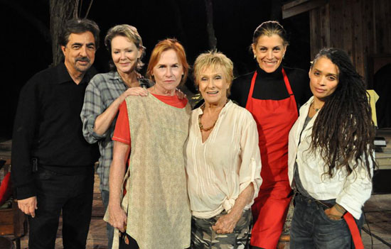 Joe Mantegna, Jean Smart, Amy Madigan, Cloris Leachman, Wendie Malick and Lisa Bonet participated in a benefit reading of Michael Gene Sullivan's Recipe at The Will Geer Theatricum Botanicum