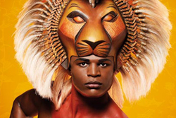 Andile Gumbi stars in The Lion King