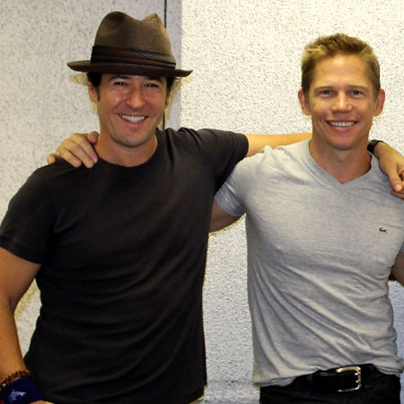 Rob Morrow and Jack Noseworthy are featured in the new musical Last Dance