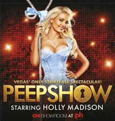 Holly Madison featured in promotional art for Peepshow
