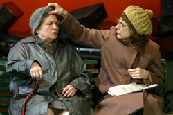 Lola Pashalinski and Laura Esterman in Terrorism