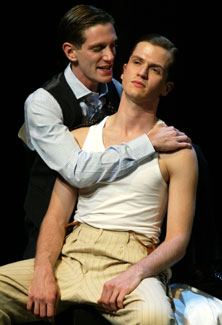 Matt Bauer and Doug Kreeger in Thrill Me: The Leopold & Loeb Story
