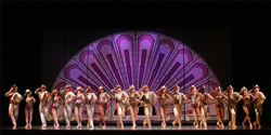 A scene from A Chorus Line