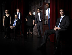 The Second City cast of Laughing Matters