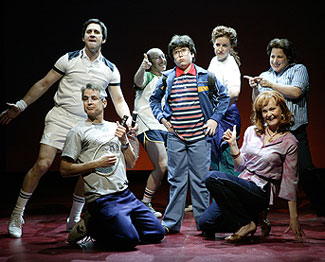 The cast of Falsettos(Photo © T. Charles Erickson)