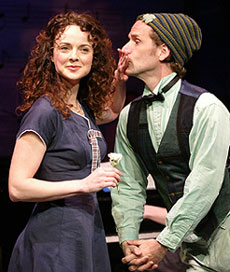Melissa Errico and Malcolm Gets in the Irish Rep production of Finian's Rainbow(Photo © Carol Rosegg)