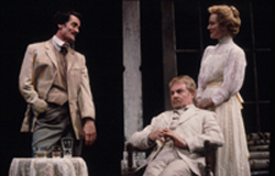 Roger Rees, Derek Jacobi, and Laura Linney