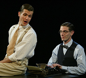 Doug Kreeger and Matt Bauer in Thrill Me(Photo © Carol Rosegg)