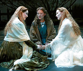 Jill Paice, Maria Friedman, and Angela Christian in the London Production of The Woman in White