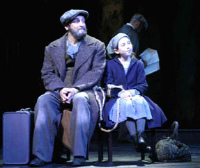 Neal Benari and Alona Bach in Ragtime