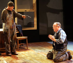 "Tim Guinee and Frank Girardeau in Horton Foote's ""The One-Armed Man""