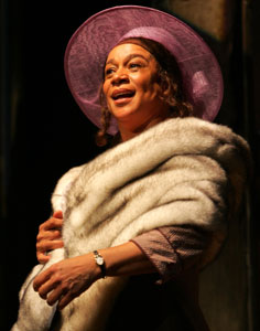 S. Epatha Merkerson in Birdie Blue