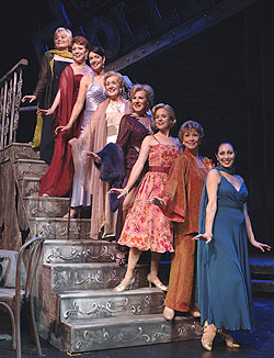 "The ""Beautiful Girls"" of Follies(Photo © Kevin Sprague)"