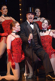 Jeff McCarthy and cast in Follies(Photo © Kevin Sprague)