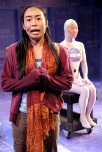 Eunice Wong and Mia Whang in The Intelligent Design of Jenny Chow
