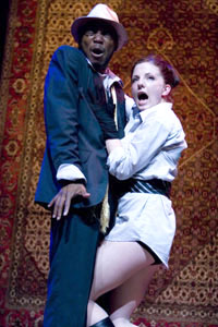 Rodney Gardner and Hanna Cheek  in The Persians